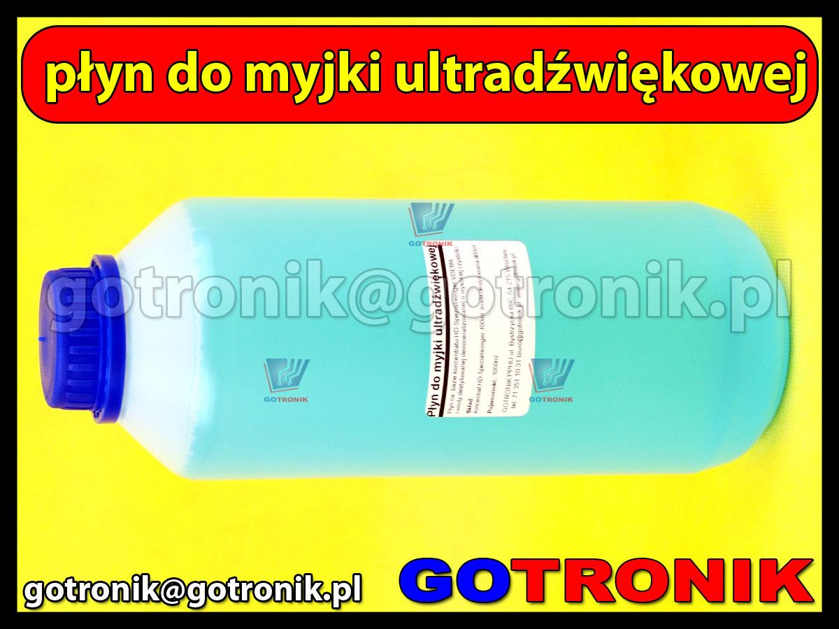 Płyn do myjki ultradźwiękowej 1litr 1000ml  myjek