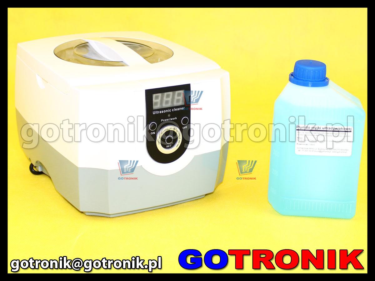 myjka ultradźwiękowa CD-4800 CD4800 + płyn 500ml