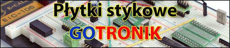 Prototypowe płytki stykowe gotronik