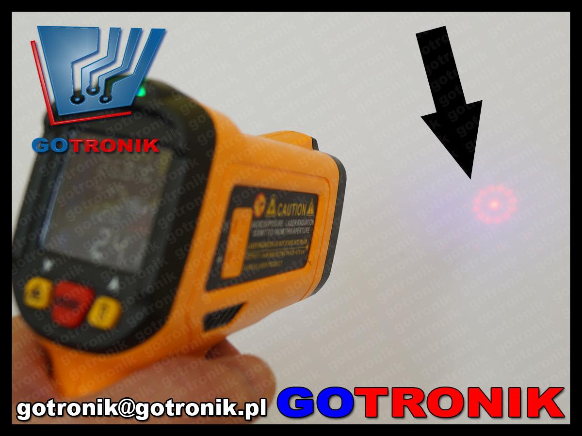 Peakmeter pm6530d pirometr na podczerwień miernik temperatury UV led