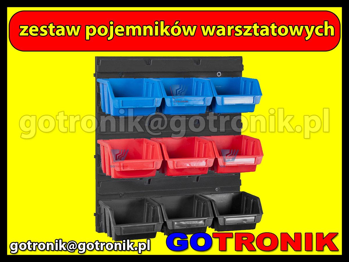 Zestaw pojemników warsztatowych - Zestaw płyty warsztatowej 350 1.1