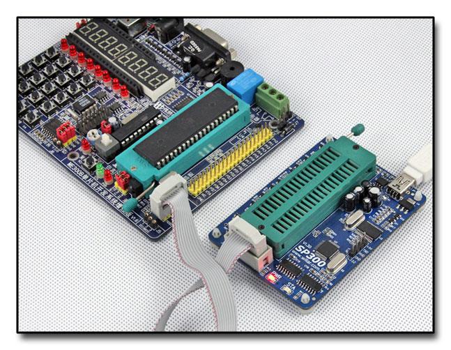 Programator SP300U uniwersalny USB ISP do pamięci Flash, szeregowych mikrokontrolerów MCU