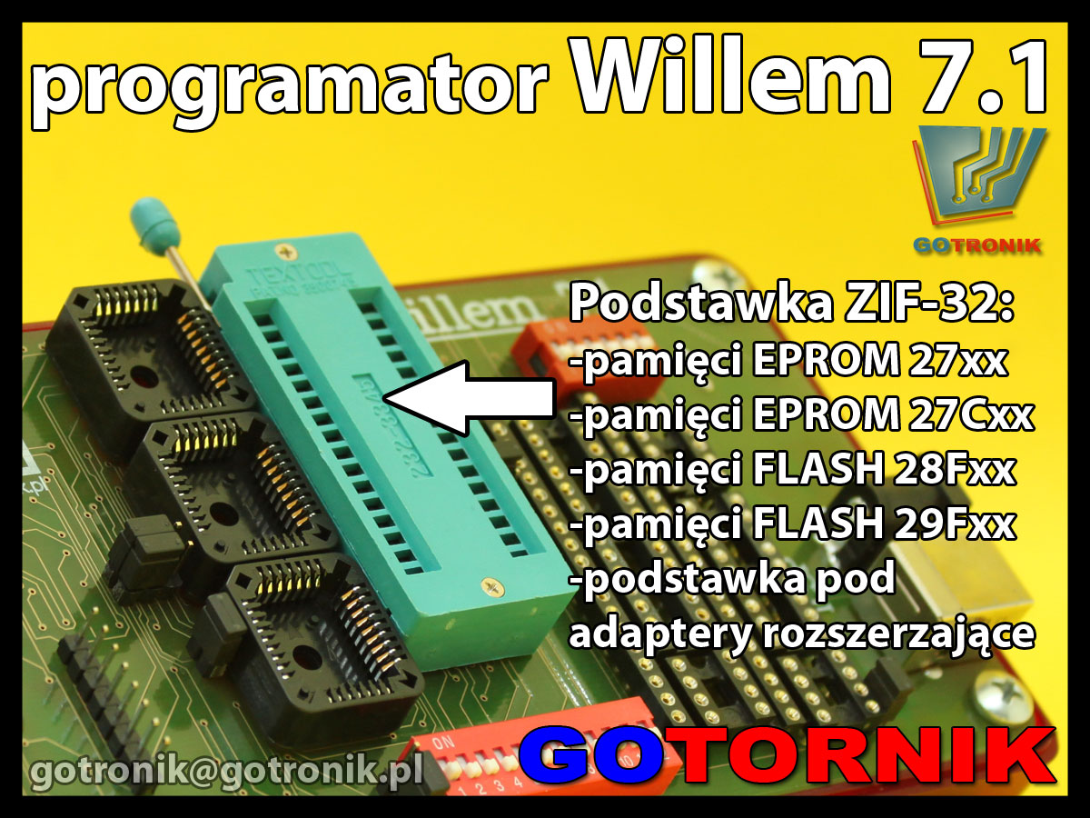 Programator Willem 7.1 opis
