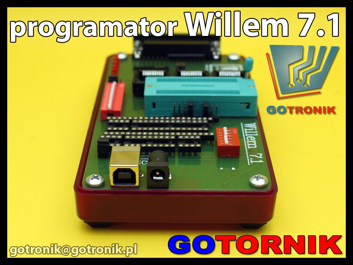 Willem 7.1 programator uniwersalny do pamięci produkcji GOTRONIK