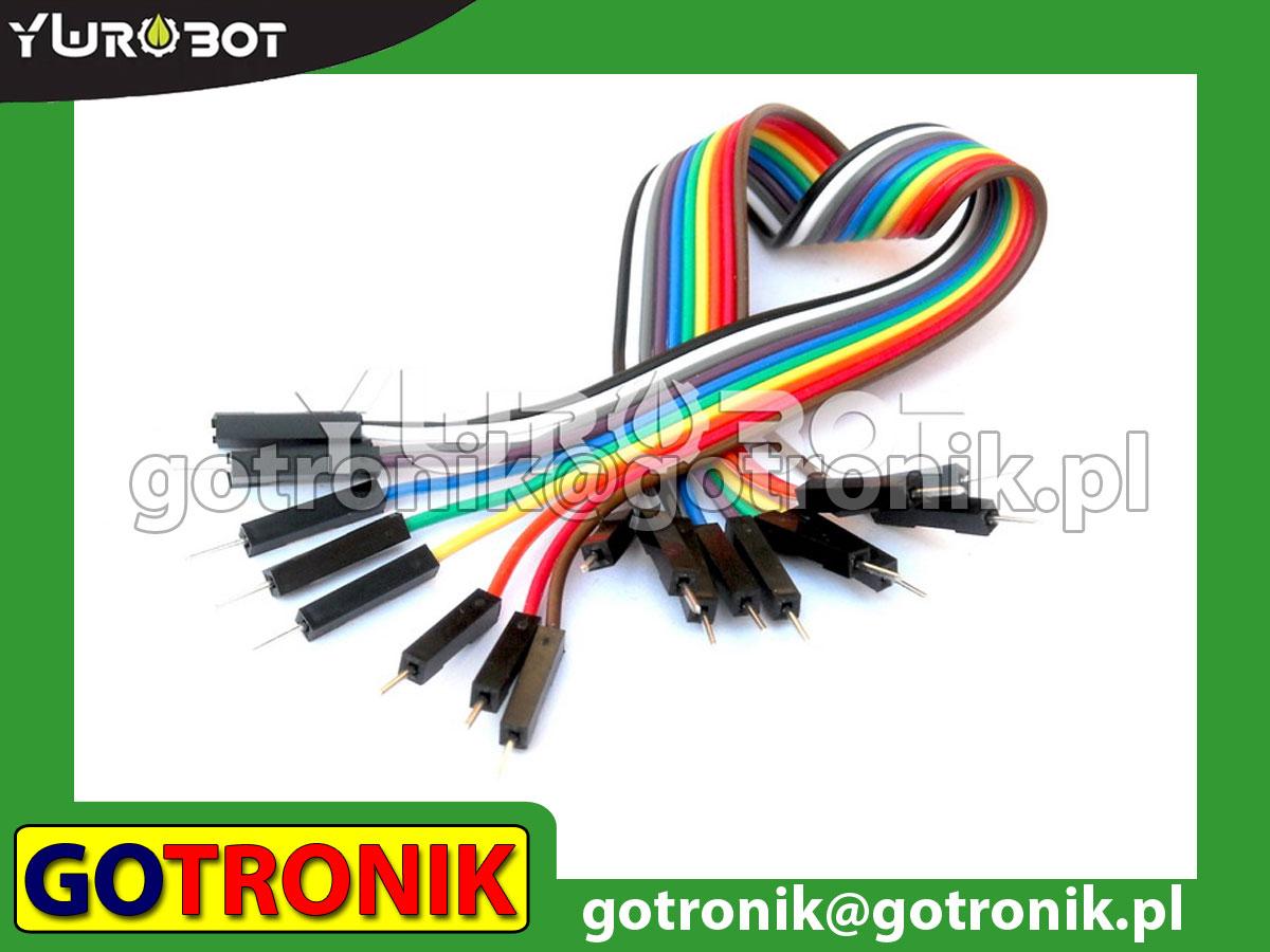 Przewód połączeniowy 10-pin męsko-męski 20cm