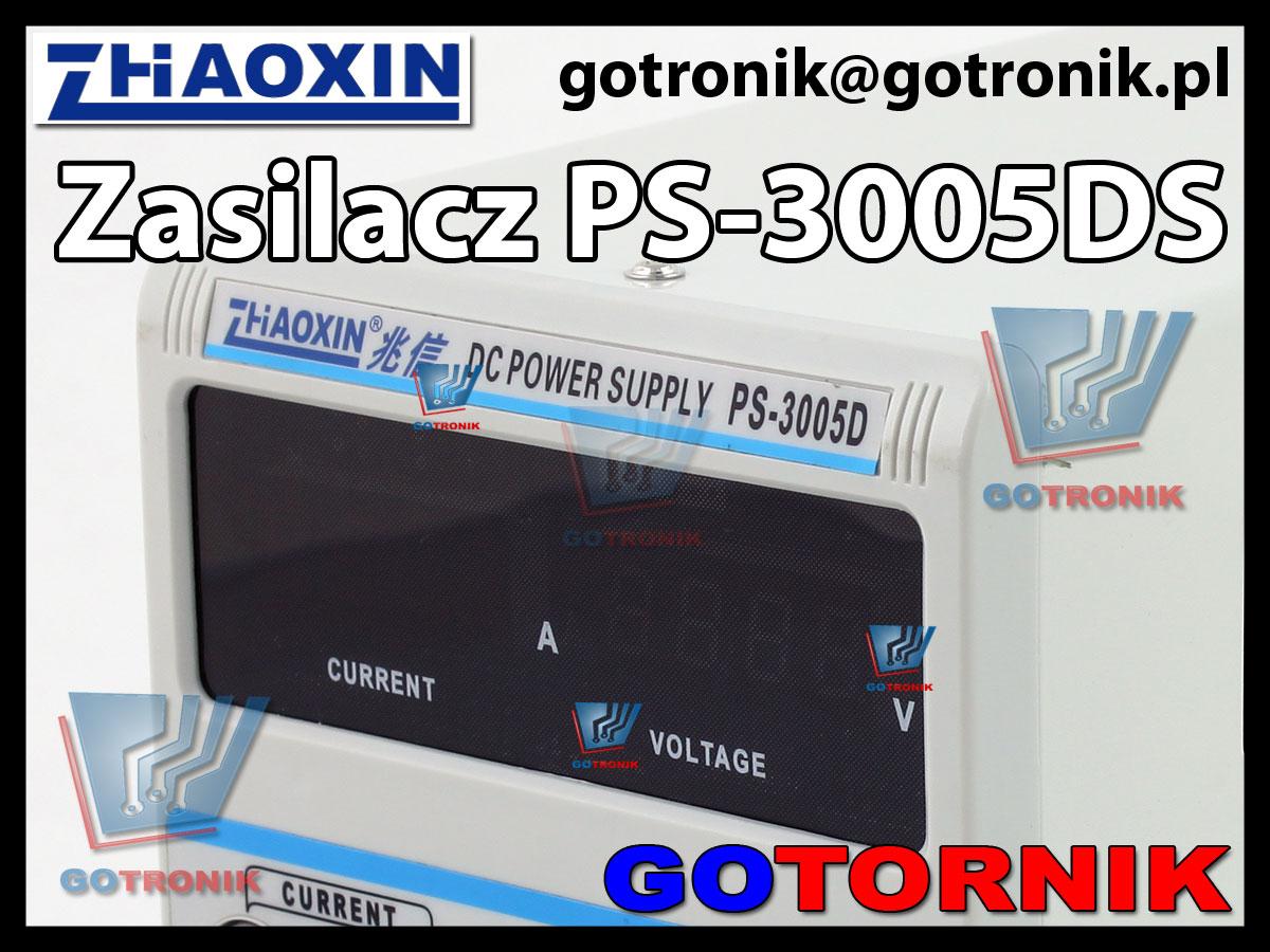 PS-3005D zasilacz laboratoryjny regulowany serwisowy  produkcji ZHAOXIN