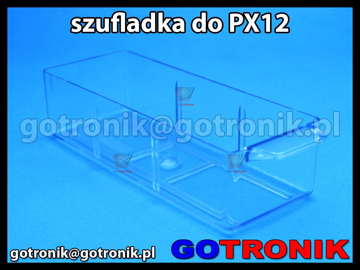 SPX-12 szufladka przezroczysta z szafki PX-12 zapasowa