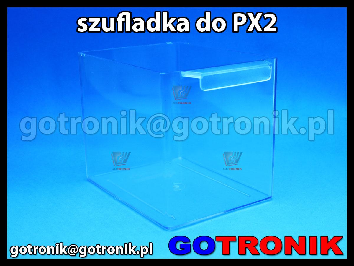 SPX-2 szufladka przezroczysta z szafki PX-2 zapasowa