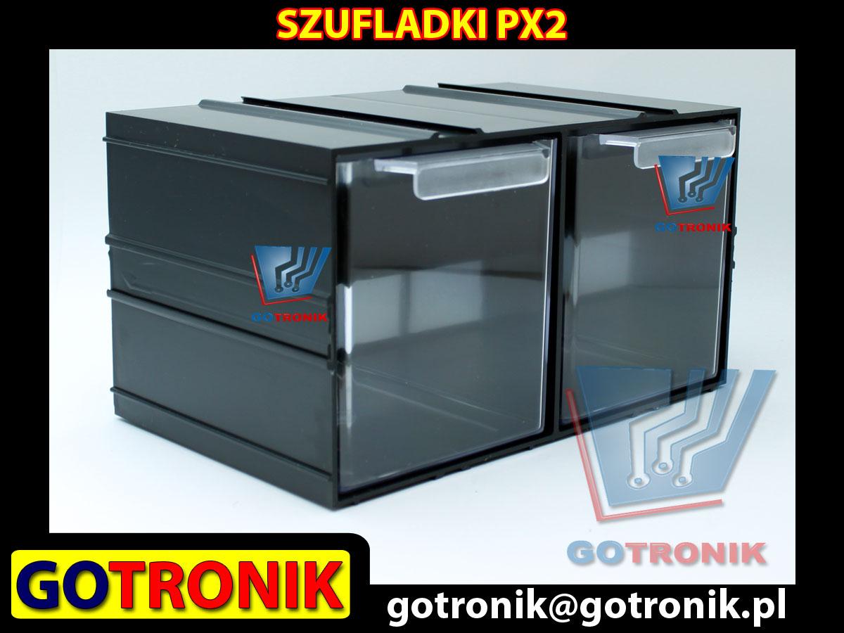PX2 PX 2 PX-2 moduł z dwiema szufladami