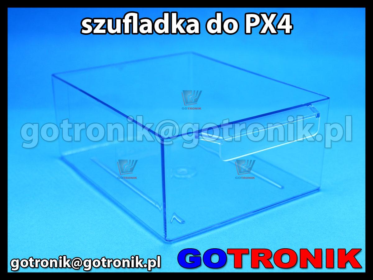 SPX-4 szufladka przezroczysta z szafki PX-4 zapasowa