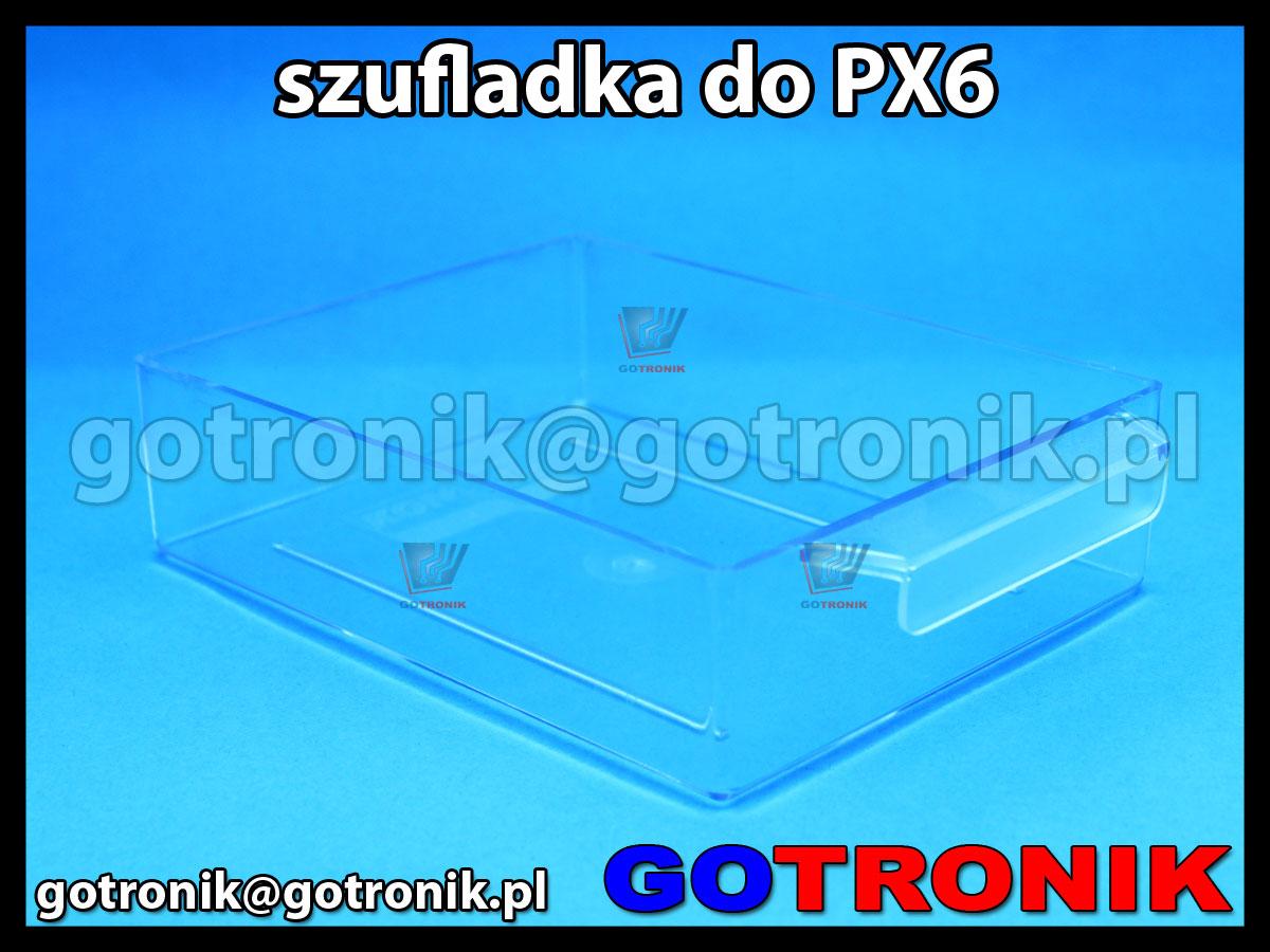 SPX-6 szufladka przezroczysta z szafki PX-6 zapasowa