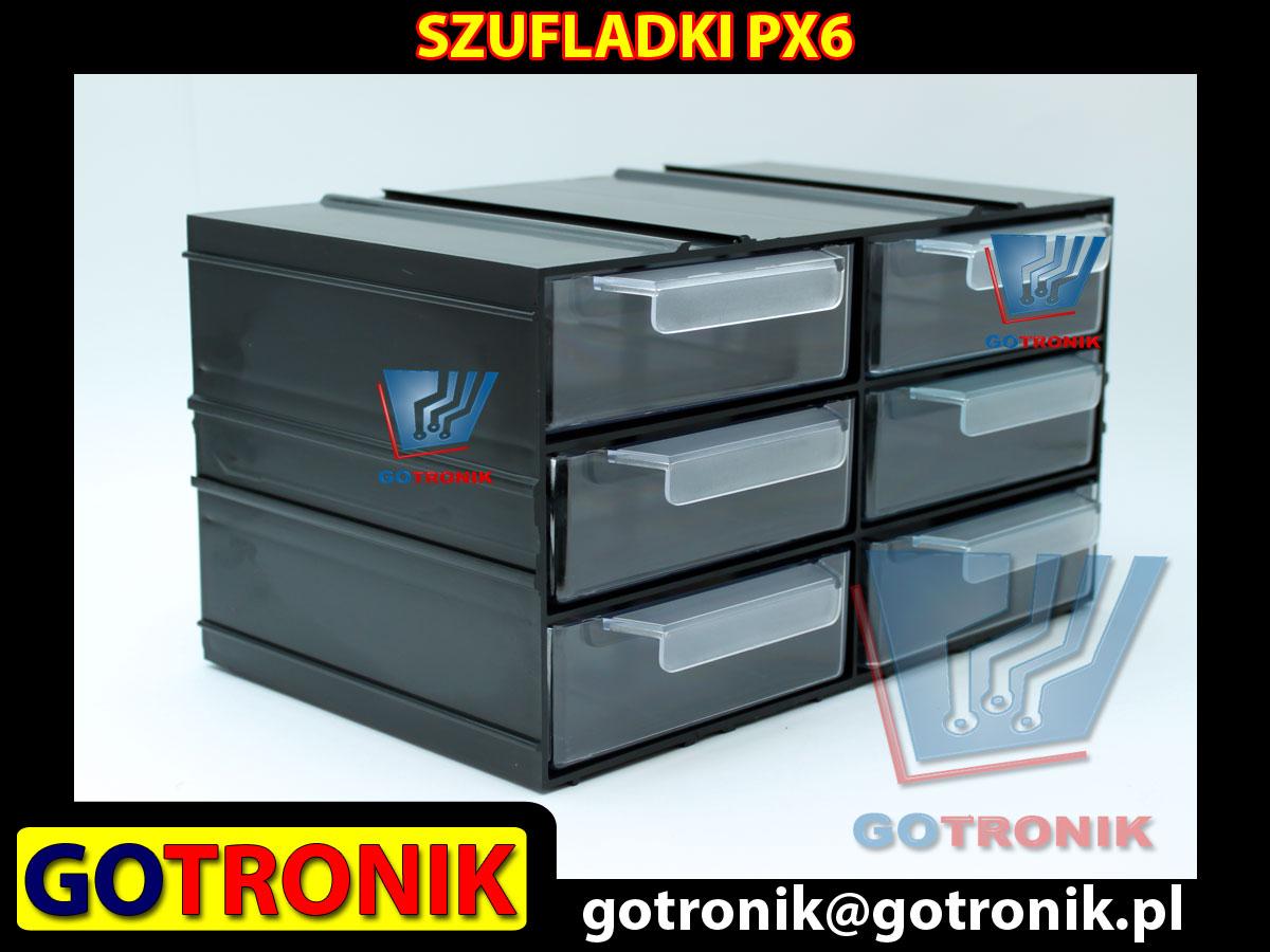 PX6 PX 6 PX-6 moduł z sześcioma szufladkami