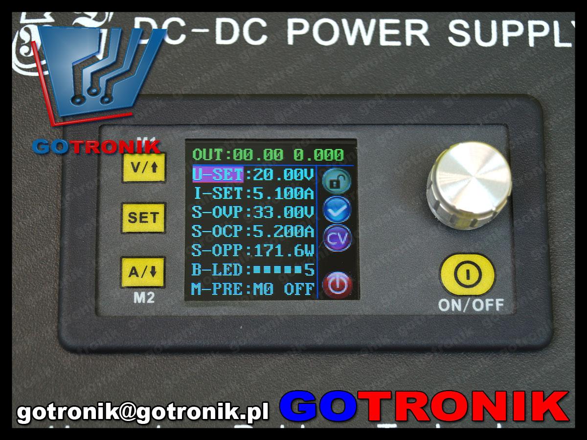 RD-001 metalowa obudowa do panelowych przetwornic zasilaczy DPS5015, DPS3012, DPH3205, DPS5020