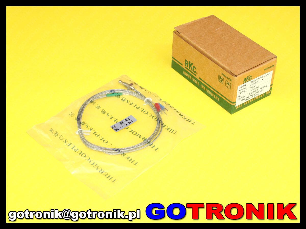 sterownik regulator termoregulator REX-C100FK02-M*AN z wyjściem przekaźnikowym