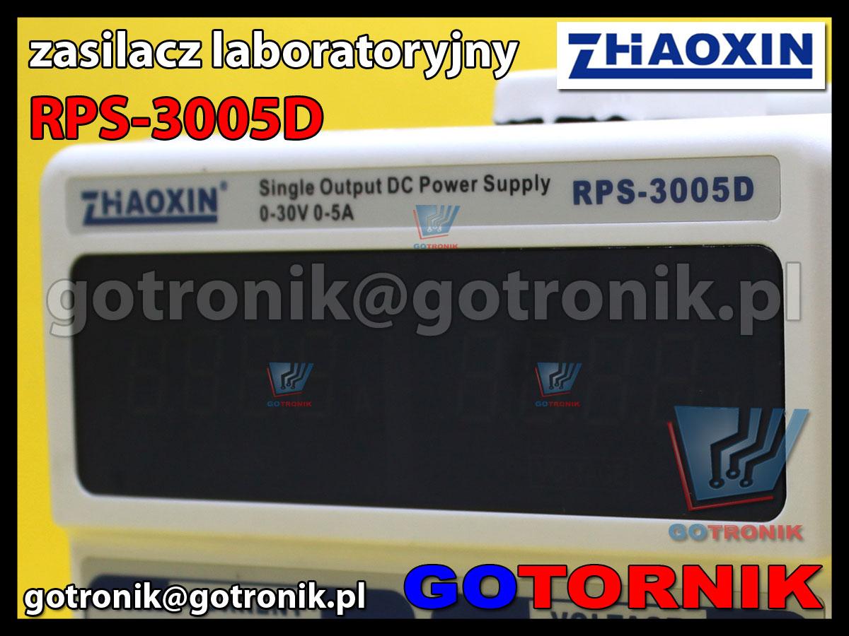 RPS-3005D zasilacz laboratoryjny 30V 5A regulowany ZHAOXIN