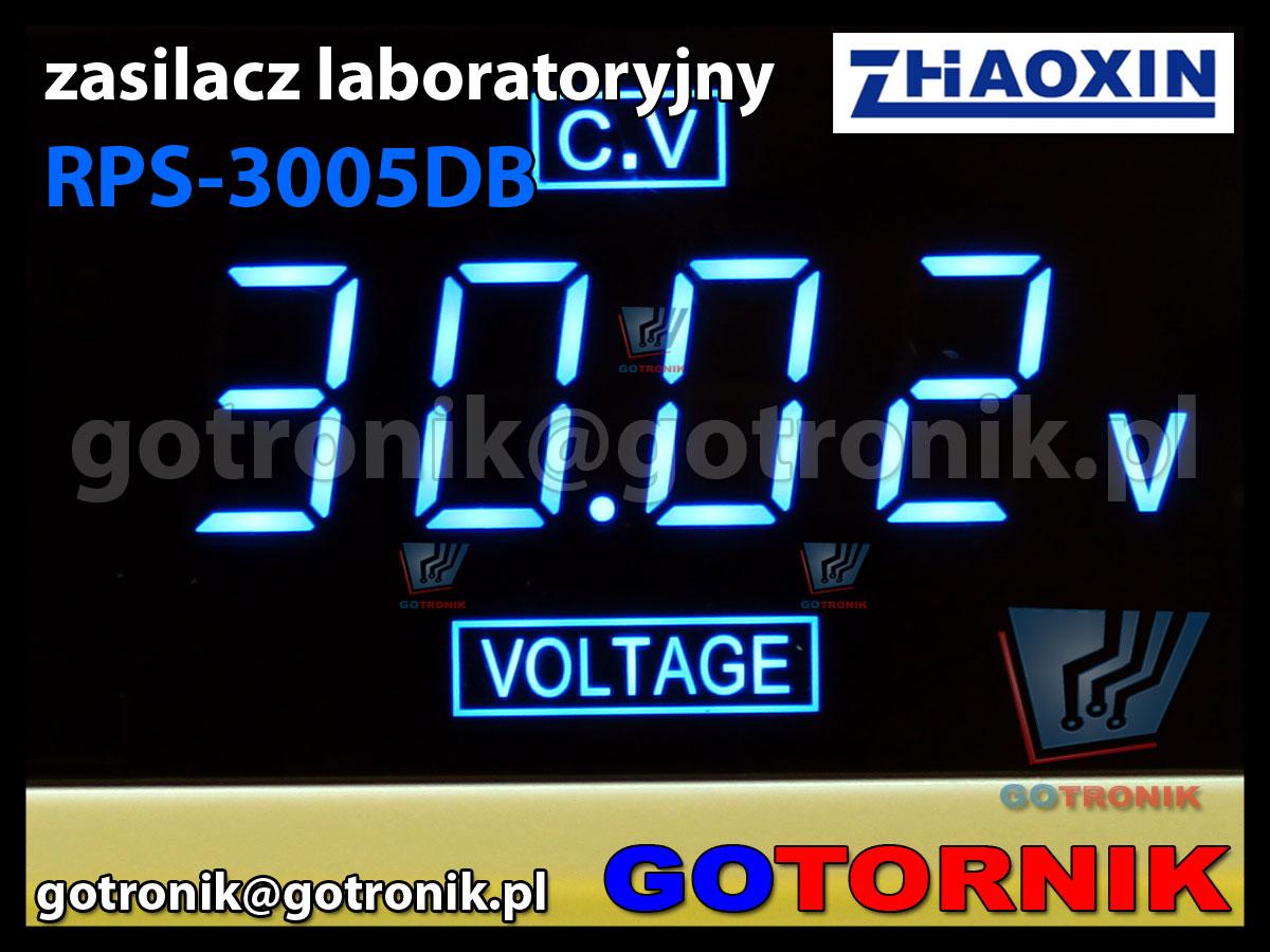RPS-3005DB zasilacz laboratoryjny 30V 5A regulowany ZHAOXIN