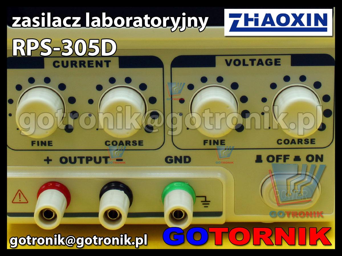 RPS-305CM zasilacz laboratoryjny 30V 5A regulowany ZHAOXIN