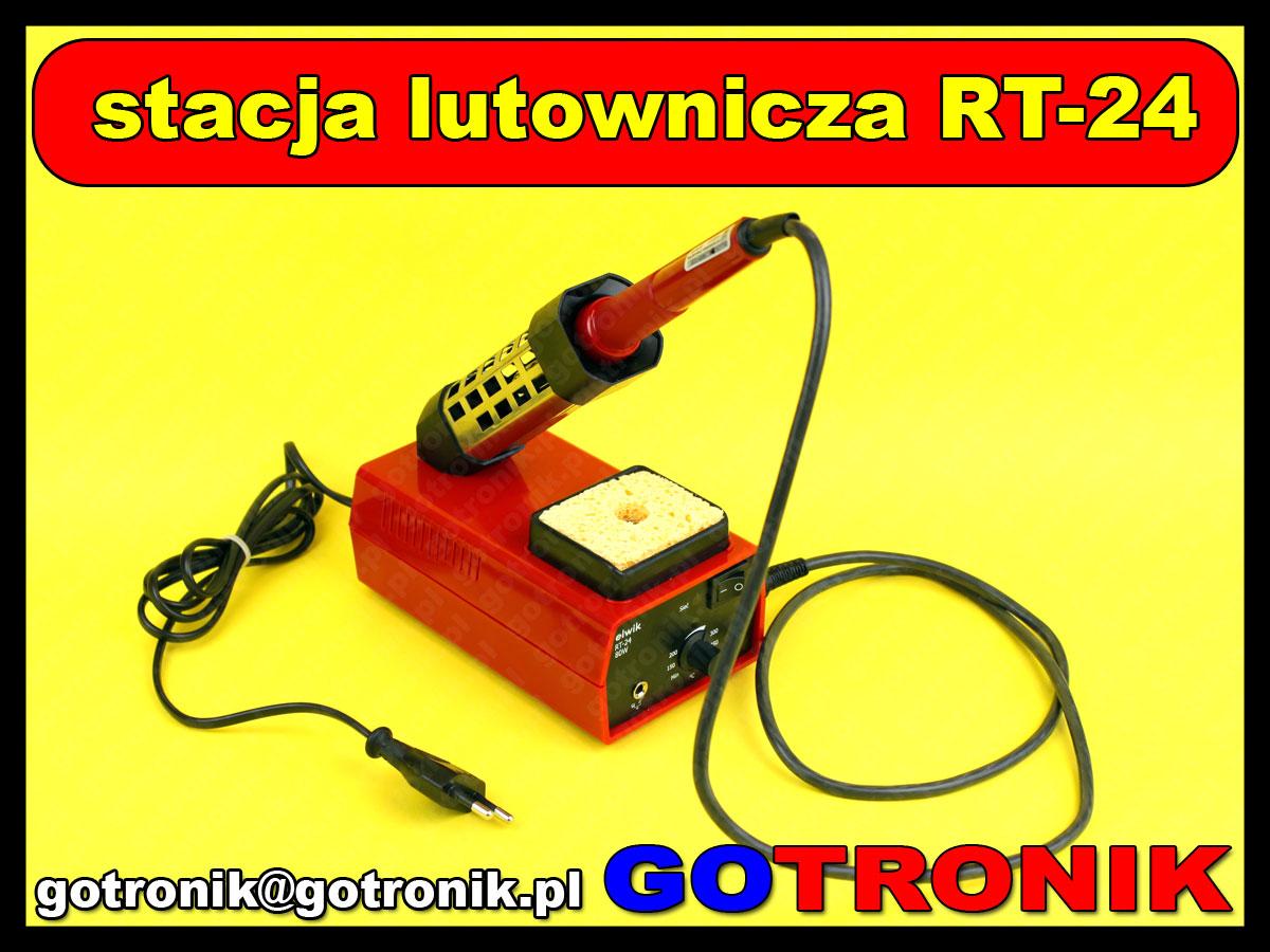 elwik RT-24 stacja lutownicza grotowa moc 80W wymienne groty