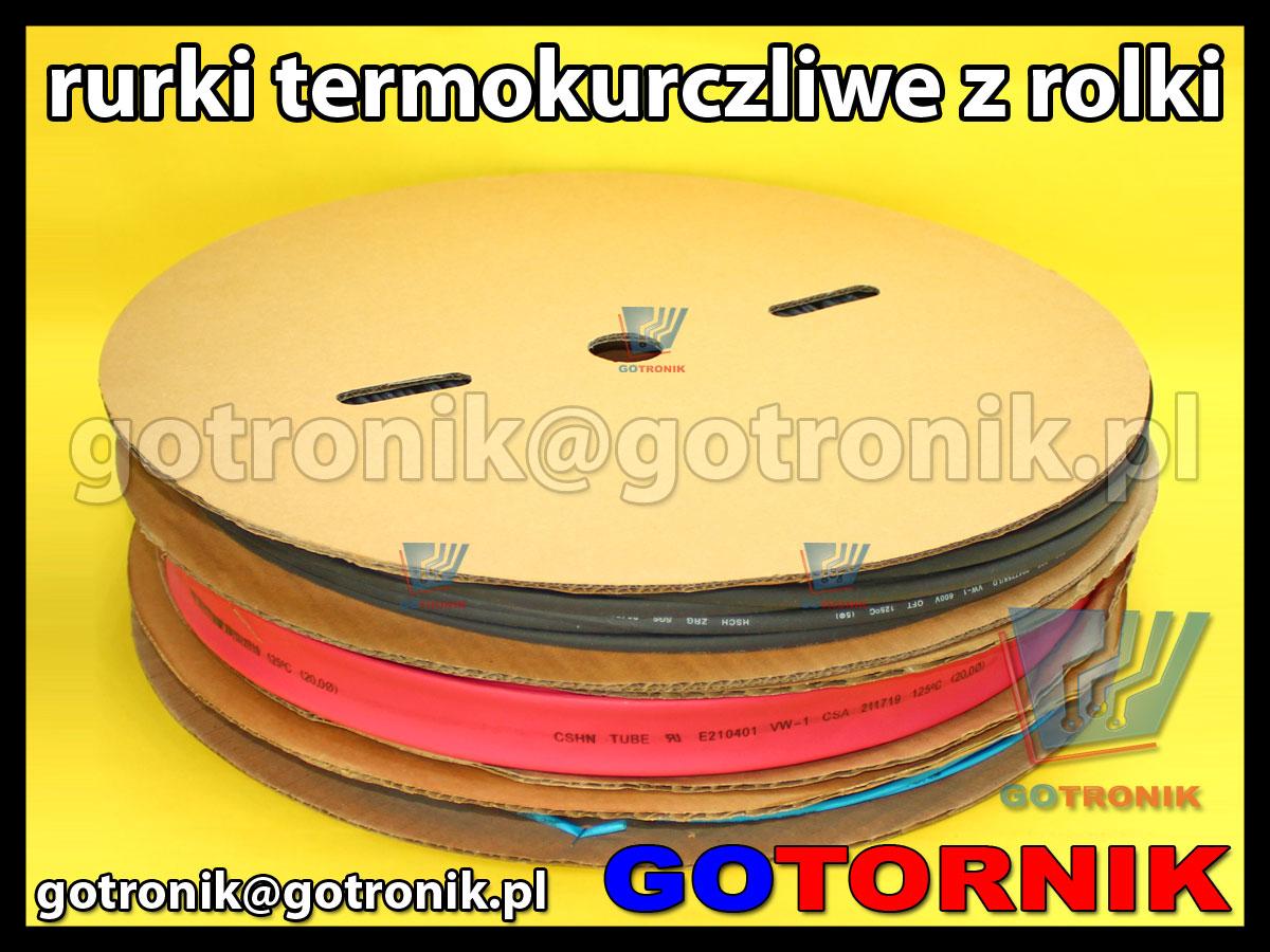 Rurki termokurczliwe z rolki rurka termokurczliwa