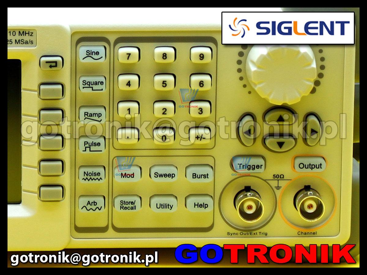 Generator funkcyjny SDG810 Siglent 10MHz DDS