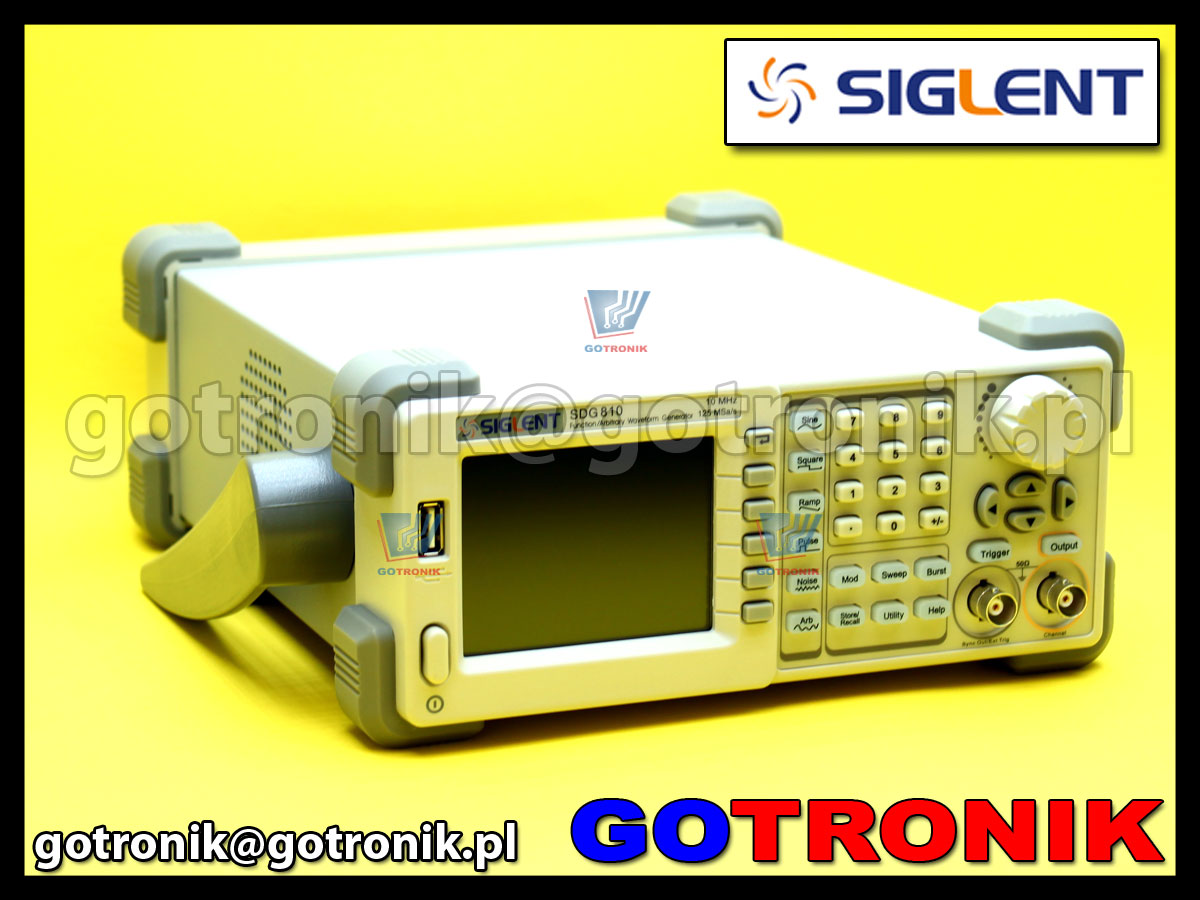 Generator funkcyjny SDG830 Siglent 30MHz DDS