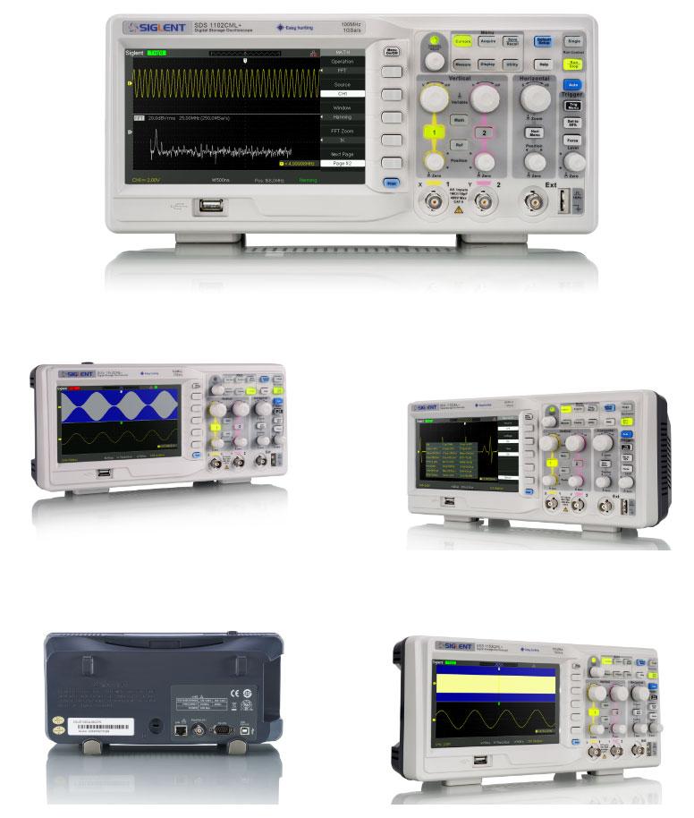 oscyloskop cyfrowy SDS1000CML+ plus Siglent