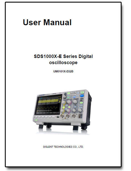 SDS1202X-E Siglent manual