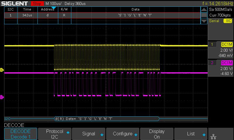 SDS1202XE Siglent oscyloskop cyfrowy SPO 2 x 200MHz SPO 2 x 200MHz