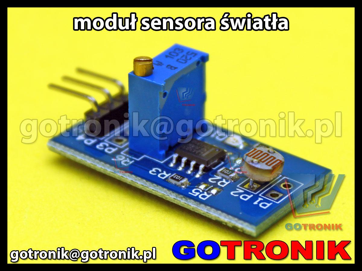 Moduł czujnika natężenia światła sensor