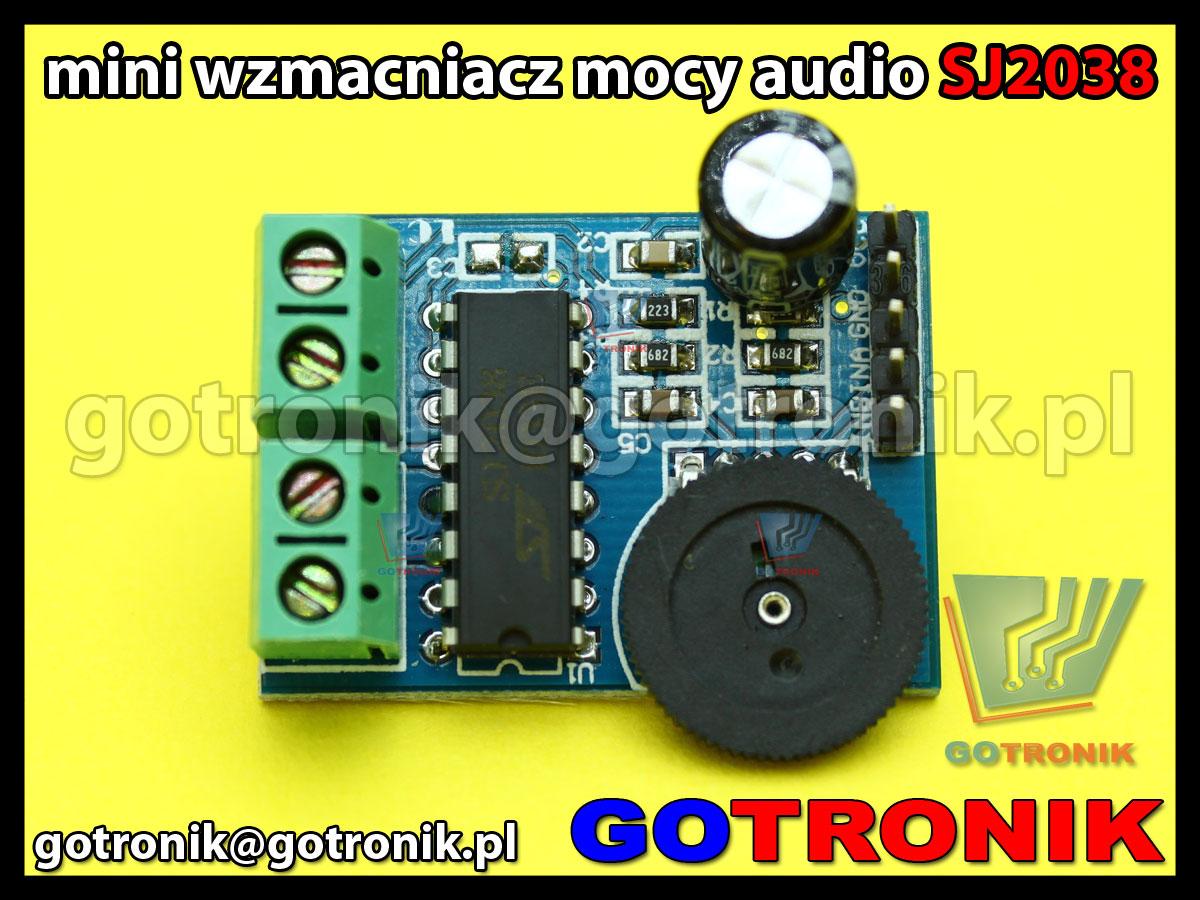 SJ2038 wzmacniacz mocy audio moduł