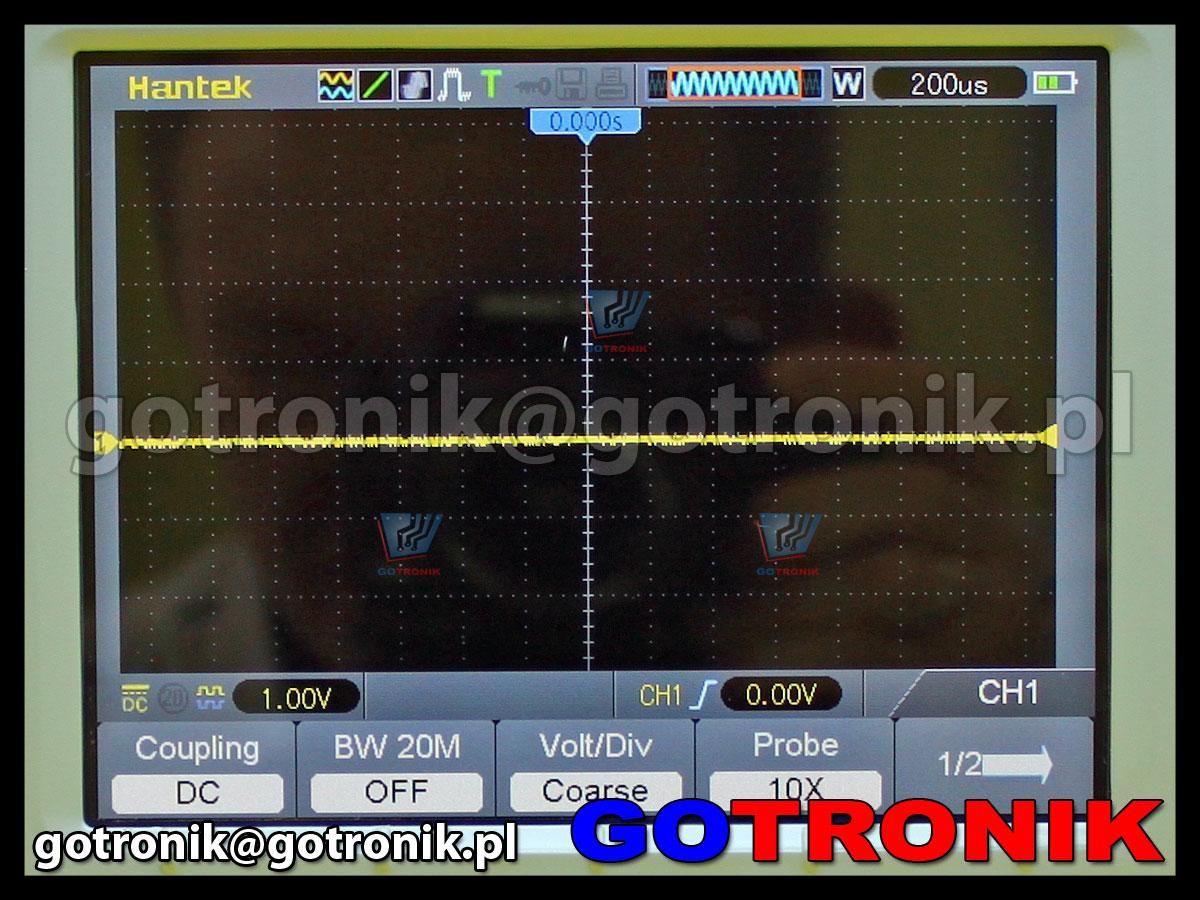 oscyloskop przenośny skopometr Hantek DSO1122S izolowane kanały 2x120MHz 1GSa/s