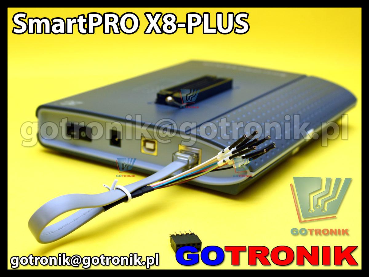Programator uniwersalny SmartPRO X8-PLUS ZIF-48pin USB 2.0 Eprom Flash