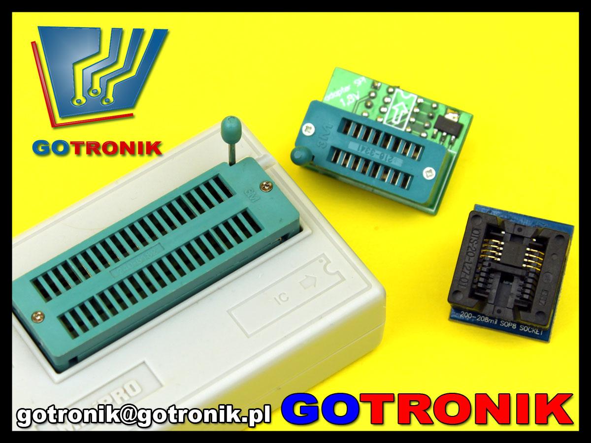 adapter SN006 adaptro SPI 1,8V TL866 programator MiniPro