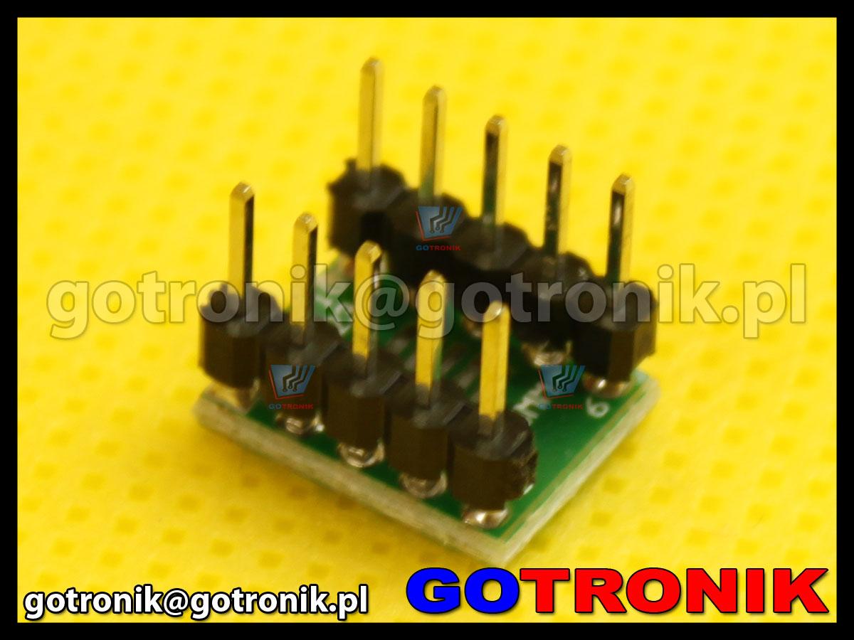 adapter SOP10, MSOP10, UMAX10 raster 0,5mm