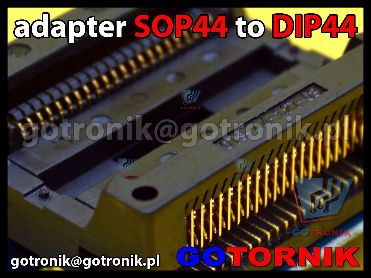SOP44 to DIP44 adapter uniwersalny do programatorów pamięci 29F200, 29F400, 29F800