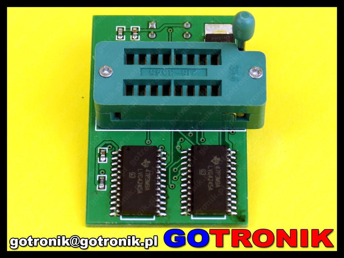 Adapter SPI Flash 1,8V do programatorów