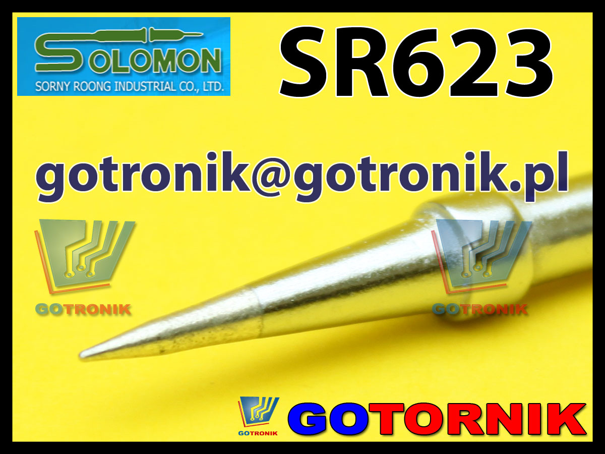 Grot SR623 SR-623 do stacji lutowniczych SOLOMON / PENSOL