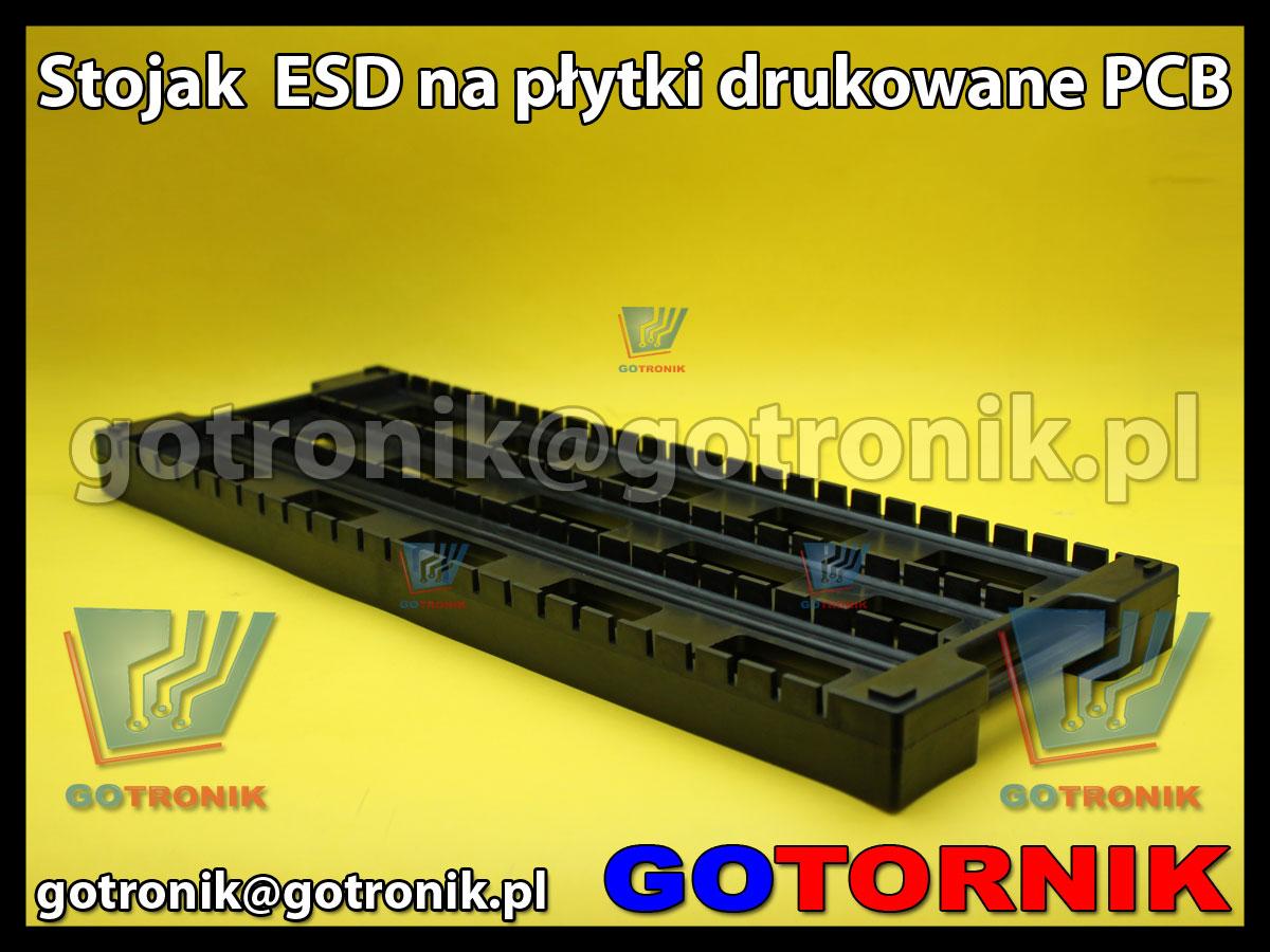 Stojak ESD na płytki drukowane PCB 16x44cm