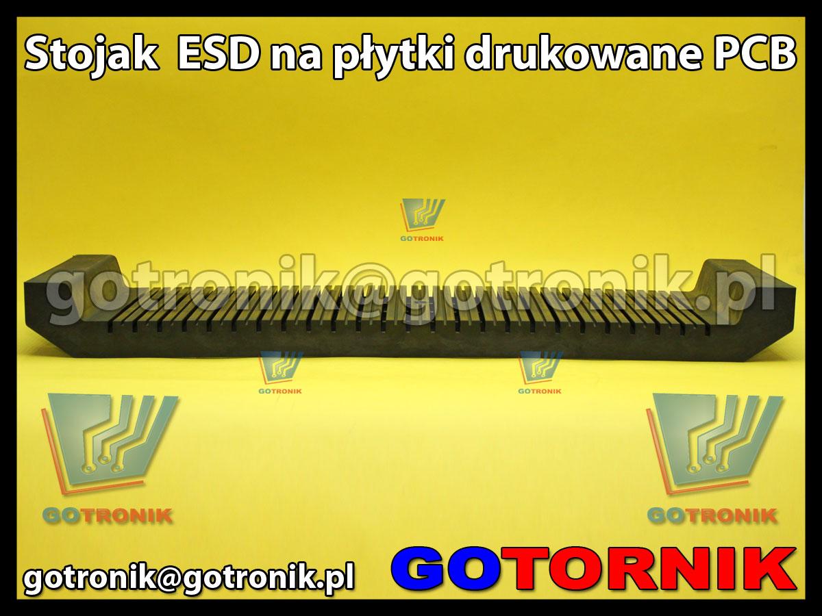 Stojak ESD na płytki drukowane PCB 17x48cm