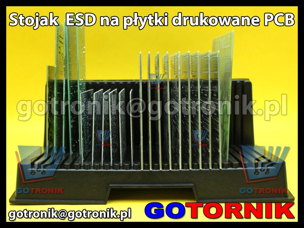 Stojak ESD na płytki drukowane PCB 26x21cm