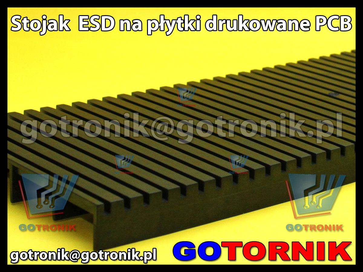 Stojak ESD na płytki drukowane PCB 41x15cm