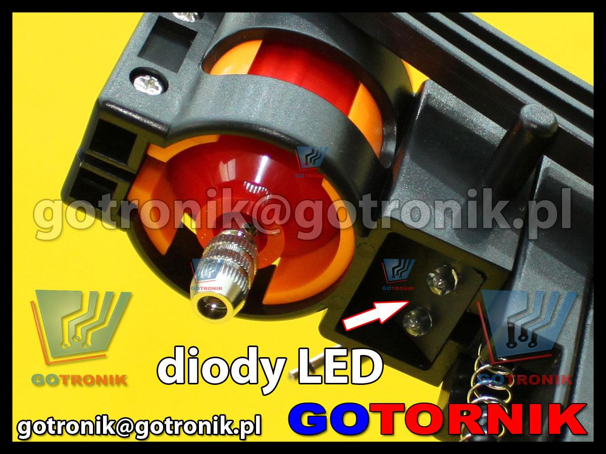 Stojak DS-12 LED + mini wiertarka AD-12