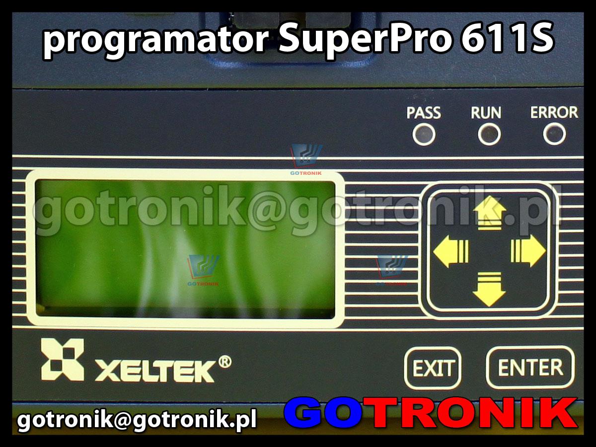 programator Xeltek SuperPro611S USB 2.0 ZIF48 uniwersalny