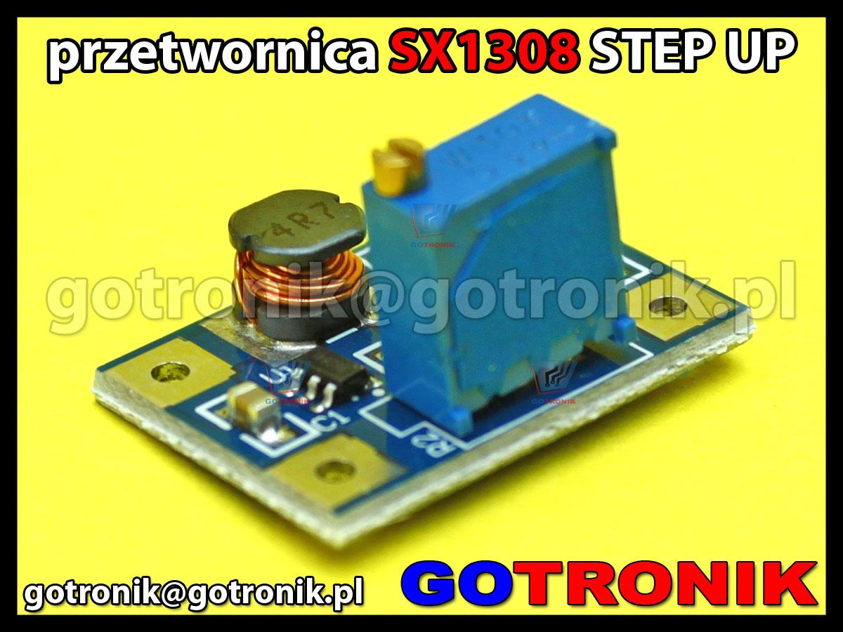 SX1308 przetwornica podwyższająca napięcie step up