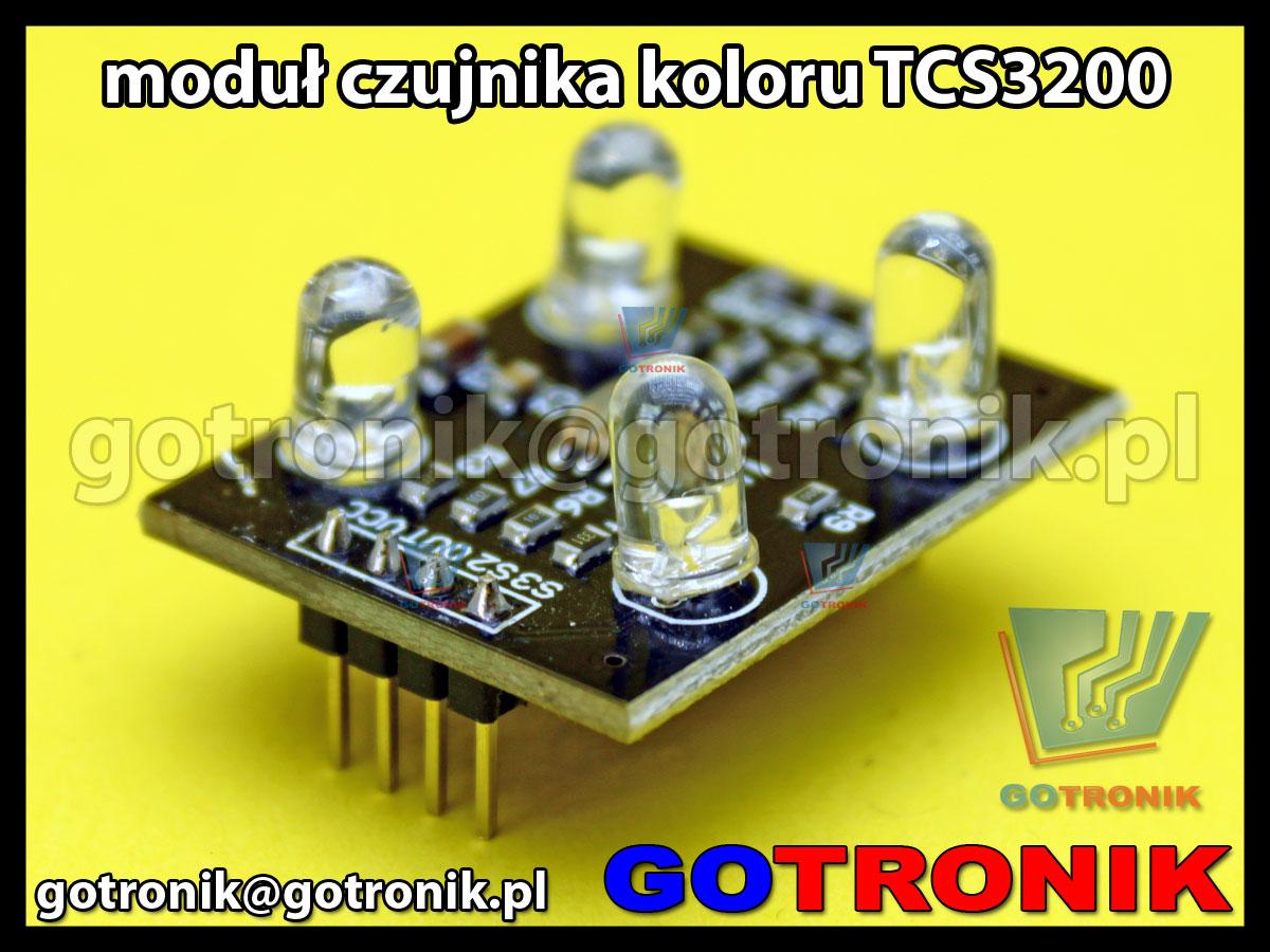 Moduł TCS3200 -czujnik do rozpoznawania kolorów