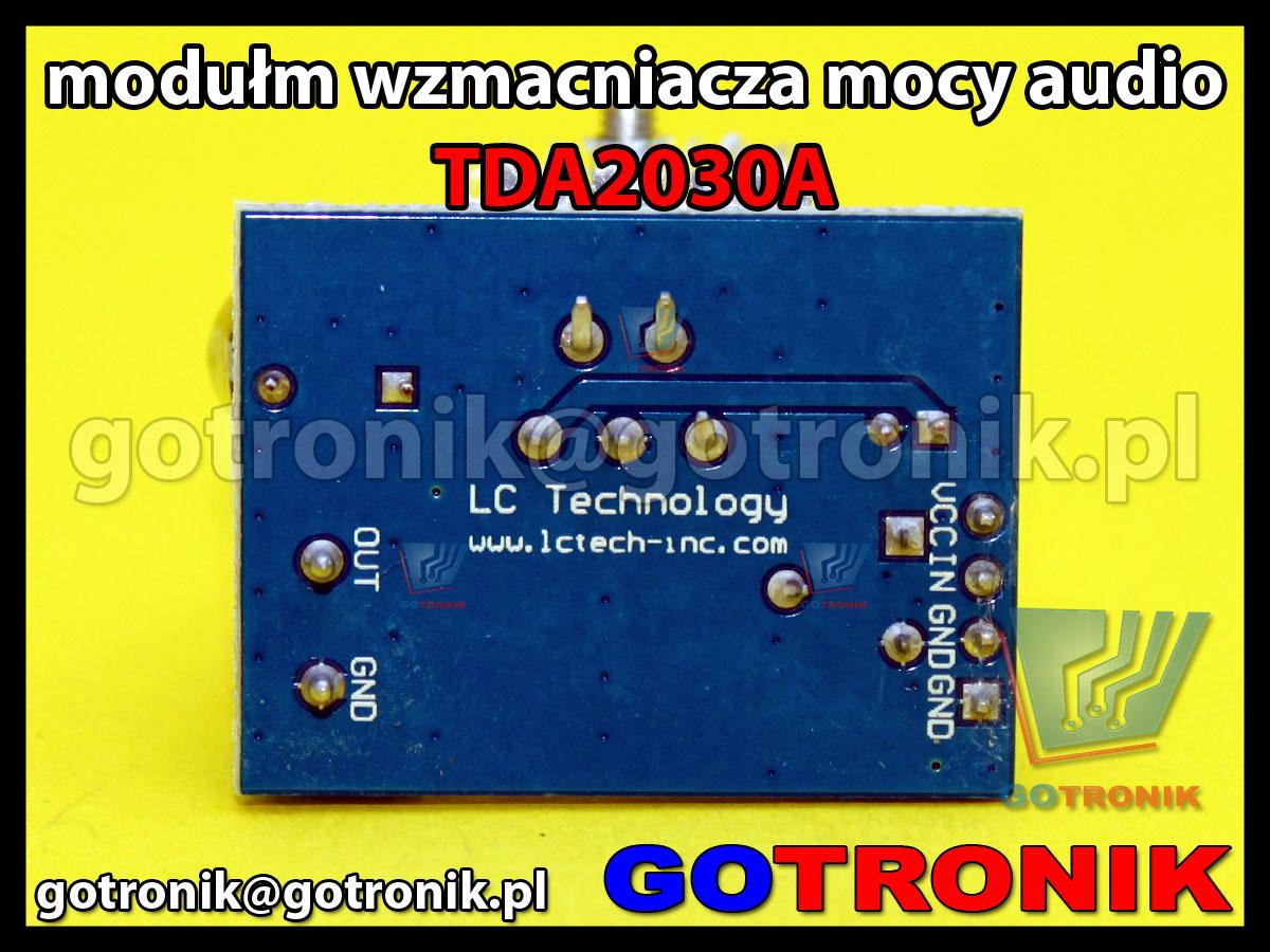 TDA2030A wzmacniacz mocy audio 18W moduł