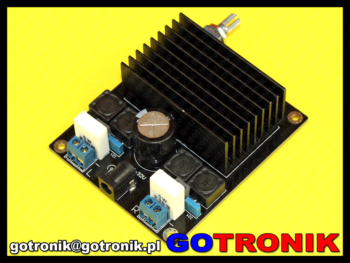 moduł wzmaczniacza mocy audio tda7498 2x100W