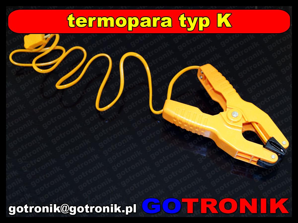 termopara typ K szczeki HT-05 -40C+200C