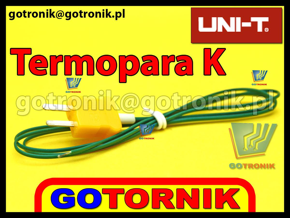 Termopara typu K produkcji UNI-T