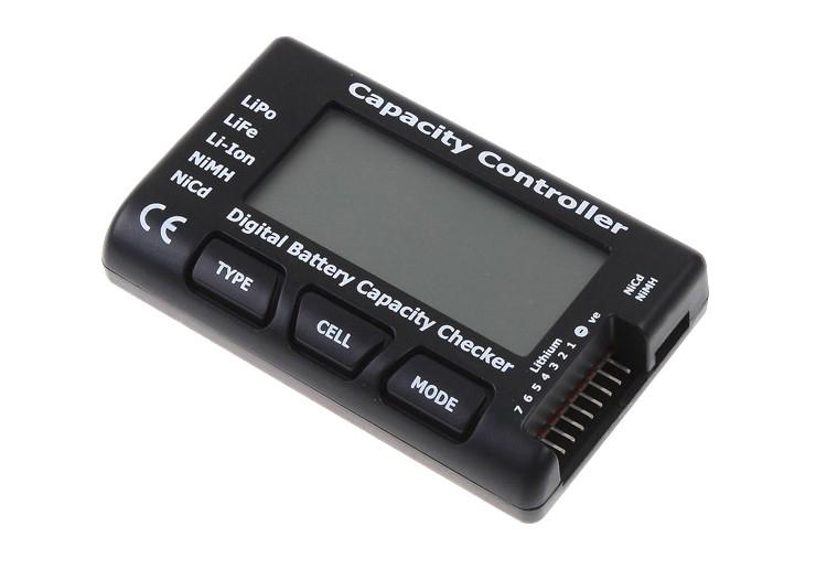 Tester miernik baterii akumulatorów Li-Pol, Li-Fe, NiCd, Ni-MH BTE-564